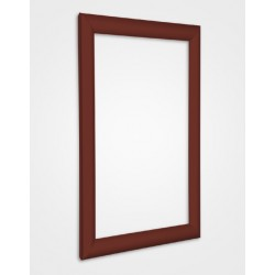 Red Brown Snap Frame 25mm
