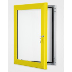Rape Yellow Colour Key Lock Poster Frame 45mm