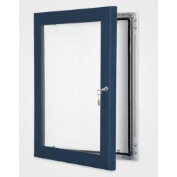 Gentian Blue Colour Key Lock Poster Frame 45mm