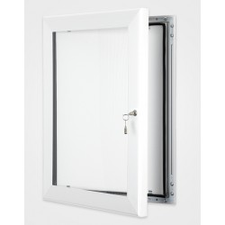 Signal White Colour Key Lock Poster Frame 45mm