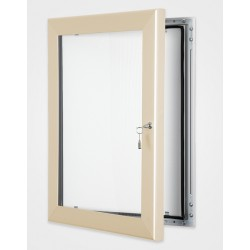 Cream Colour Key Lock Poster Frame 45mm