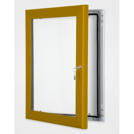 Pearl Copper Colour Key Lock Poster Frame 45mm
