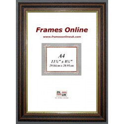 Traditional Teak Wood Picture Frame