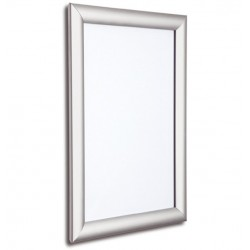 40x30 inch Silver Snap Frame 25mm