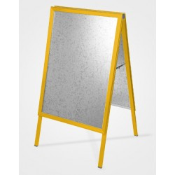 Pearl Gold A Board Large Pavement Sign