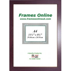 ECO Flat Dark Brown Photo Frame A4 Size