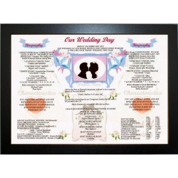 Our Wedding Day -  ECO Frame