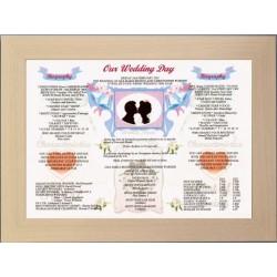 Our Wedding Day -  Premium Frame